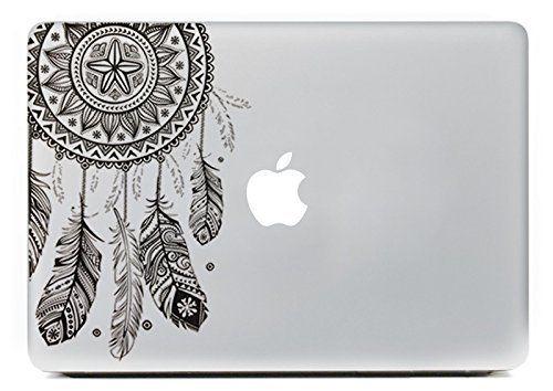 Drawn macbook apple fruit Peau vinyle Feuilles 18 labtop
