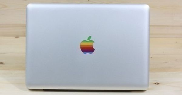 Drawn macbook apple fruit Pro for Apple decal for