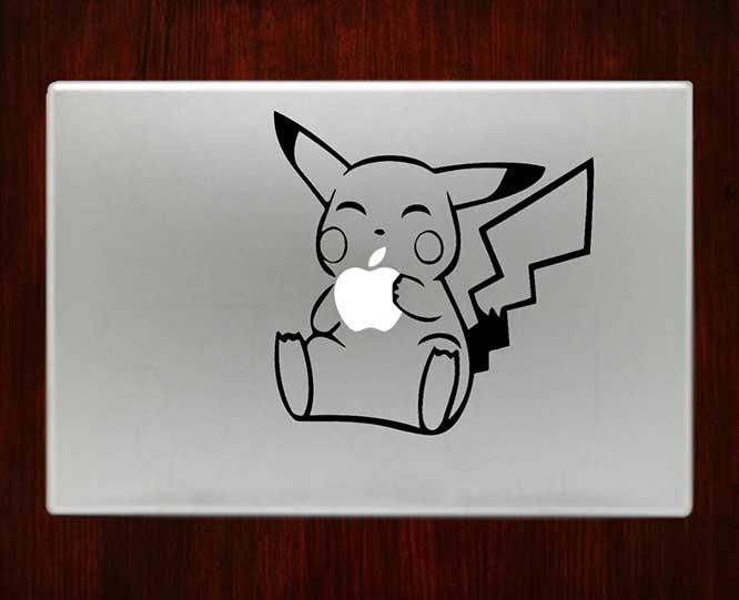 Drawn macbook eaten Eating Pikachu / Pro Eating