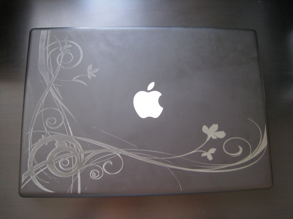 Drawn macbook engraved Janeylicious laser laser … it