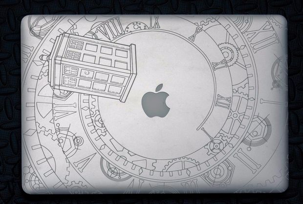 Drawn macbook engraved 15