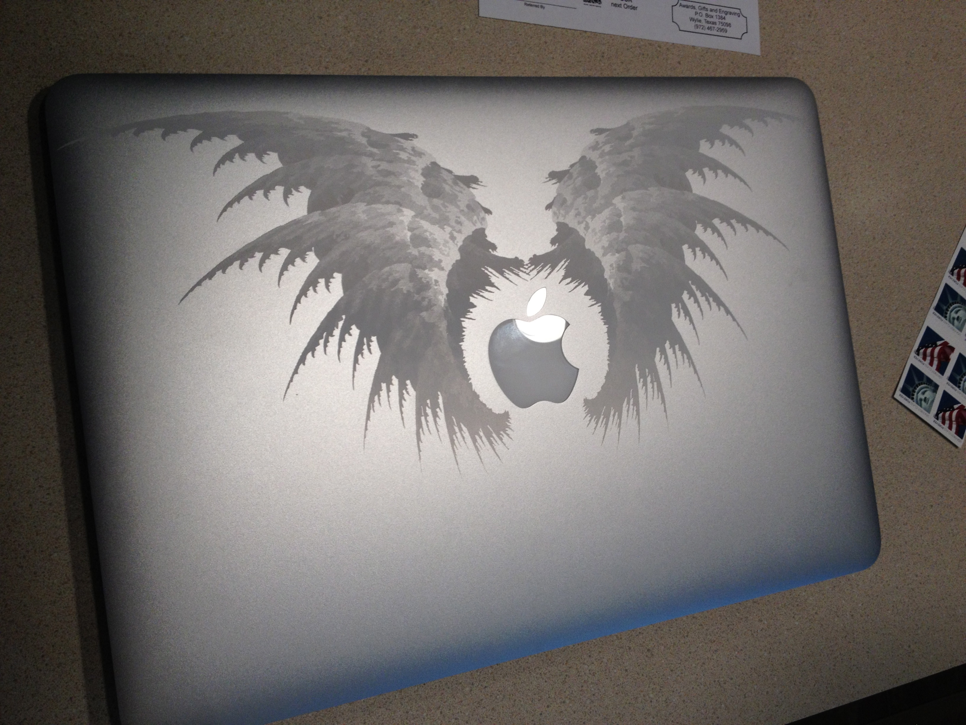 Drawn macbook engraved Laser MacRumors Another Air engraved