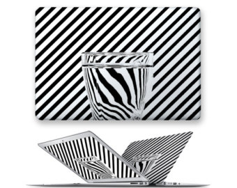 Drawn macbook illusion art Bar for hard Illusion rubberized