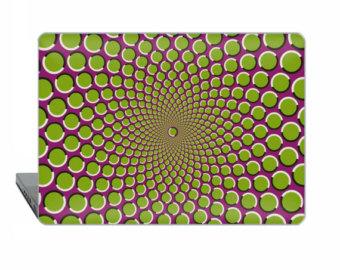 Drawn macbook illusion art Case optical 2016 Illusion touch