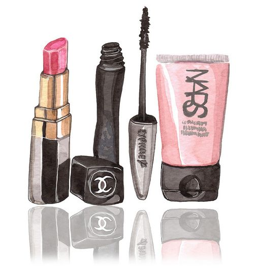 Drawn makeup Makeup Pinterest DrawingNature ideas Makeup