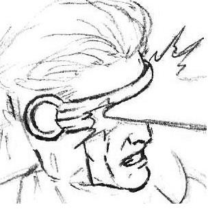 Drawn men cyclops #14