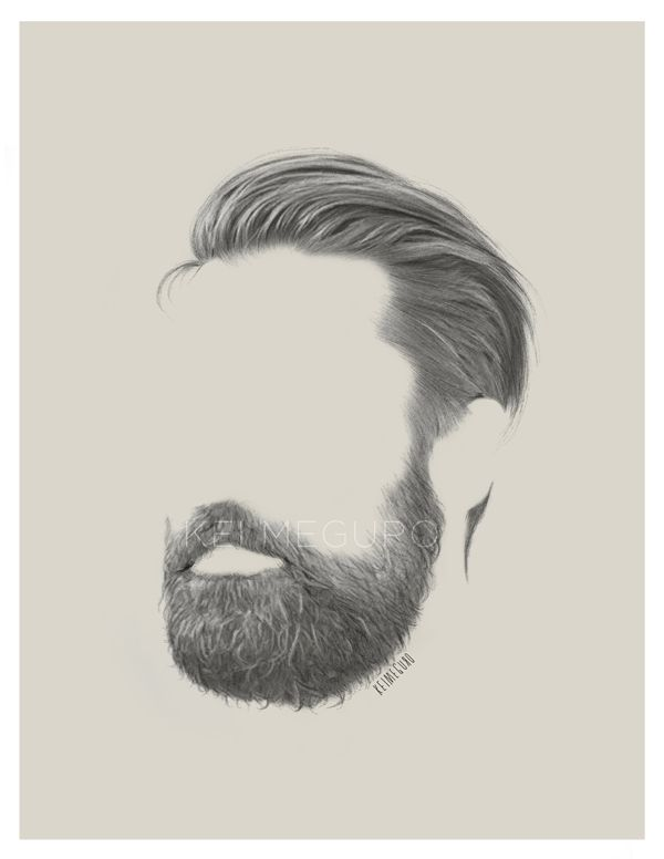 Drawn beard business professional And Pin images Drawing more