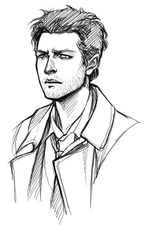 Drawn men cool man #1