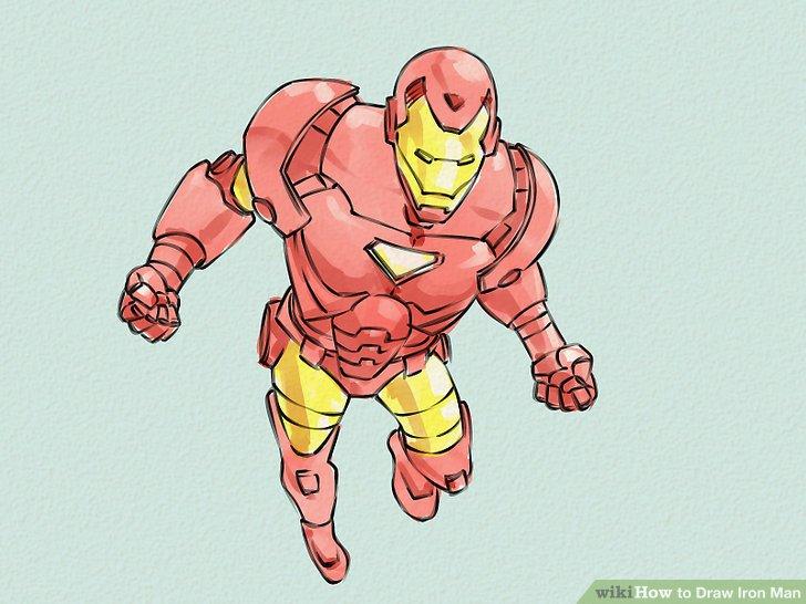 Drawn man WikiHow 6 Man 4 Iron