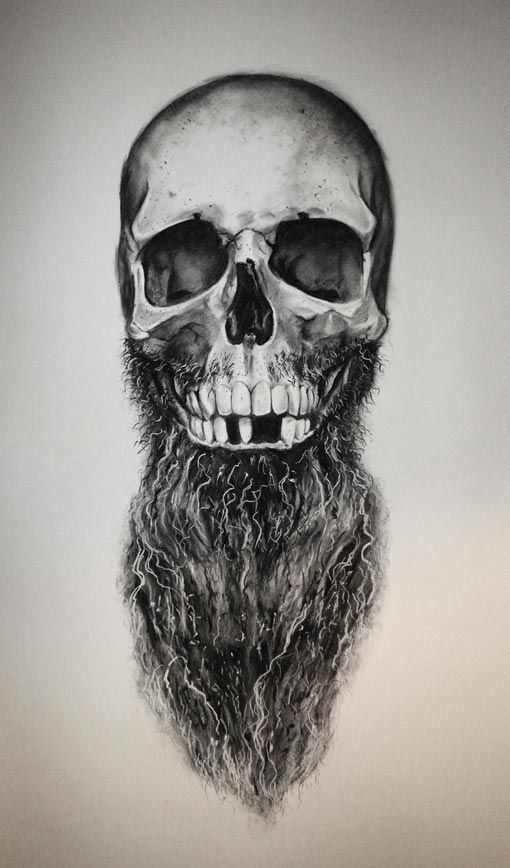 Drawn beard artistic Tattoos Daniel 88 Pinterest man