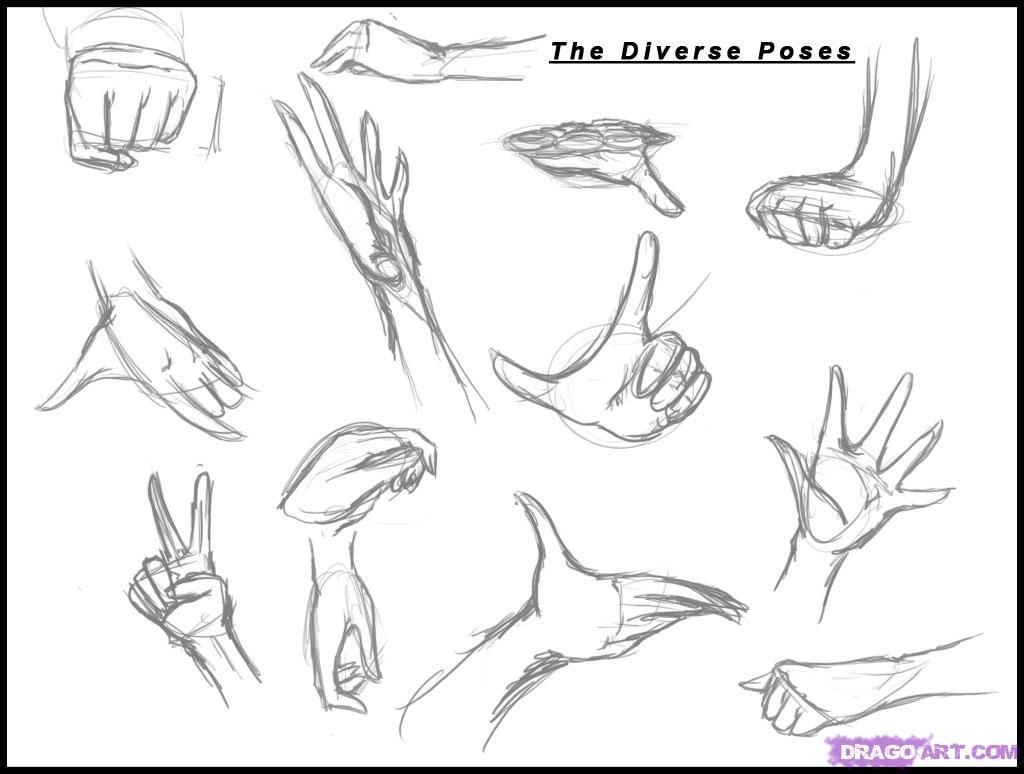 Drawn fist hand movement Body Manga body idrawgirls131 987