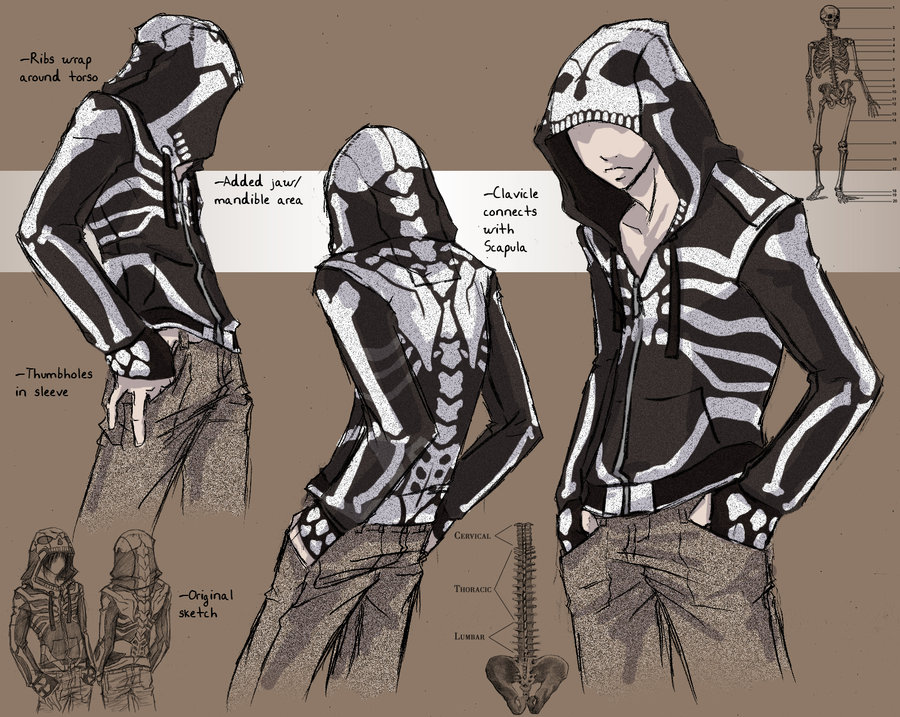 Drawn skeleton anime Google drawing Google a hoodie