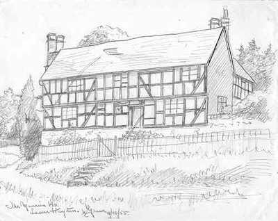 Drawn mansion Mansion Hayton House House drawing