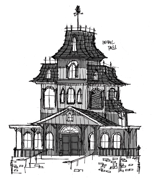 Drawn mansion To sharpie Shingles with and