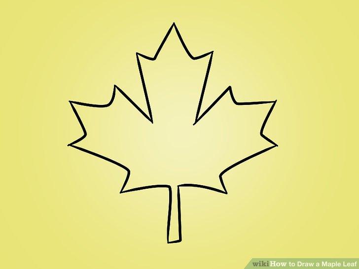 Drawn maple leaf Titled 12 05 Pictures) Leaf: