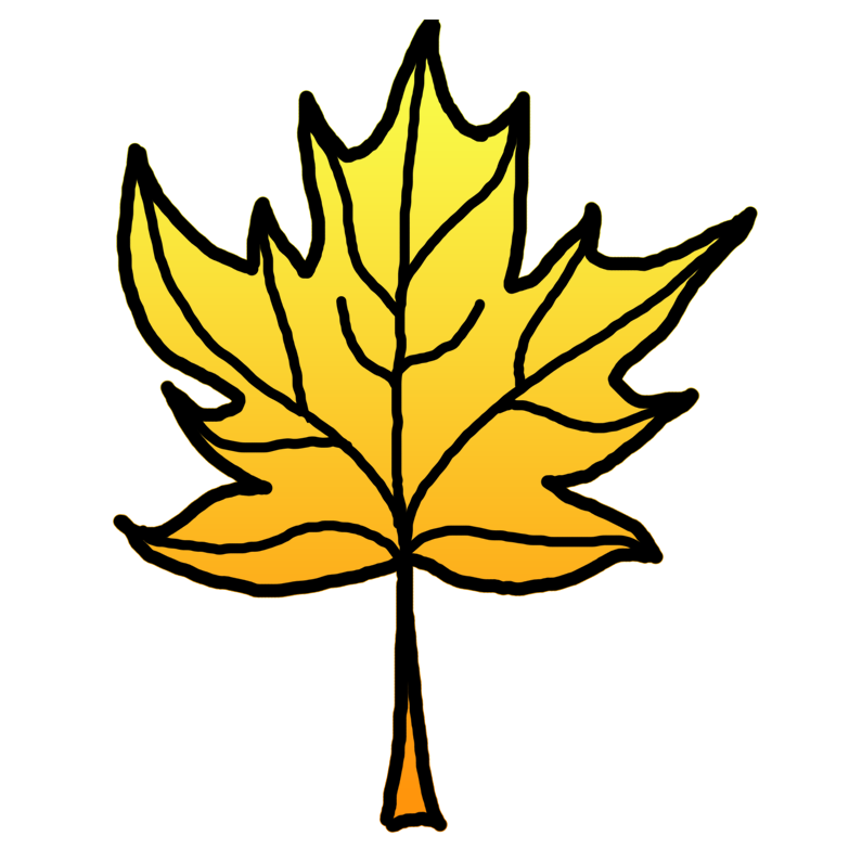 Leaves clipart yellow leaf #3
