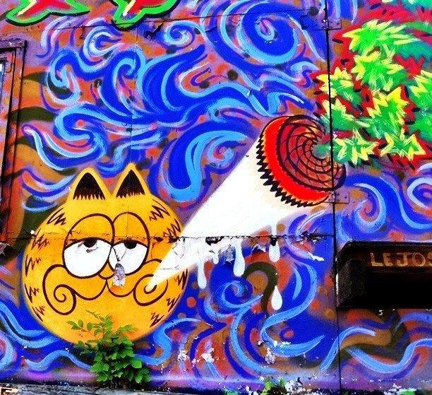 Drawn cannabis Cannabis Graffiti drugs mushrooms marijuana