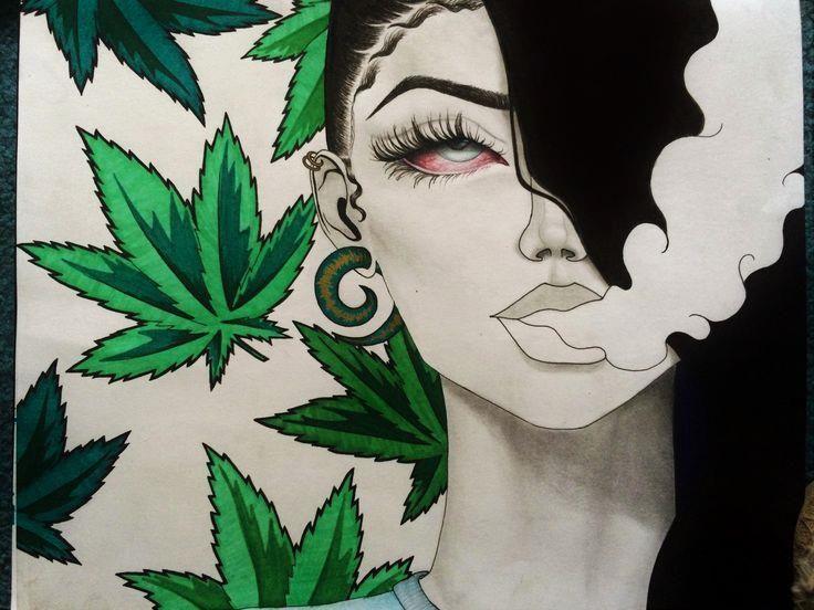 Drawn cannabis NO #cannabis Pinterest Art images