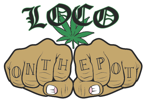 Drawn pot plant smoking weed The the Outpost Coast LoCO