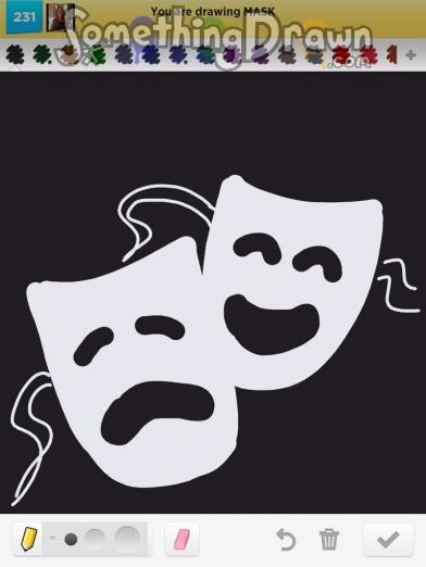 Drawn masks drawing Something com mask jennypah MASK