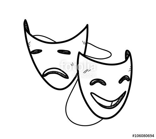 Drawn mask Mask