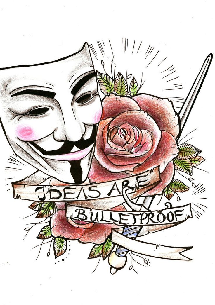 Iiii clipart rose For ideas 25+ tattoo vendetta