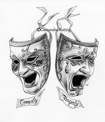 Drawn masks acting Actor: craft;  learn your