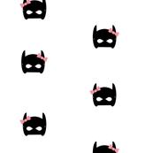 Drawn masks bat Wrap bat wallpaper mask &