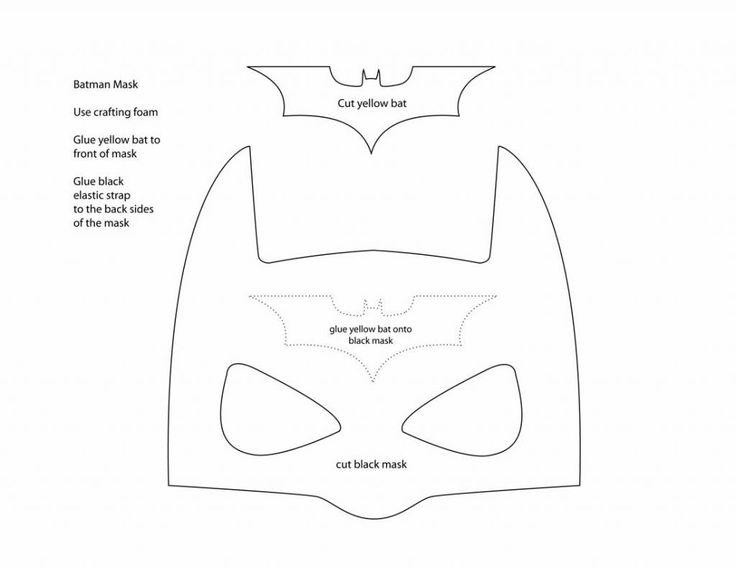 Drawn masks bat Pinterest Anna template at ideas