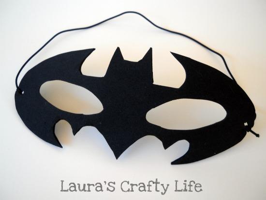 Drawn masks bat Batman Mask Batman and How