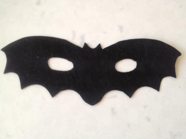 Drawn masks bat Kid up Bat halloween Mask