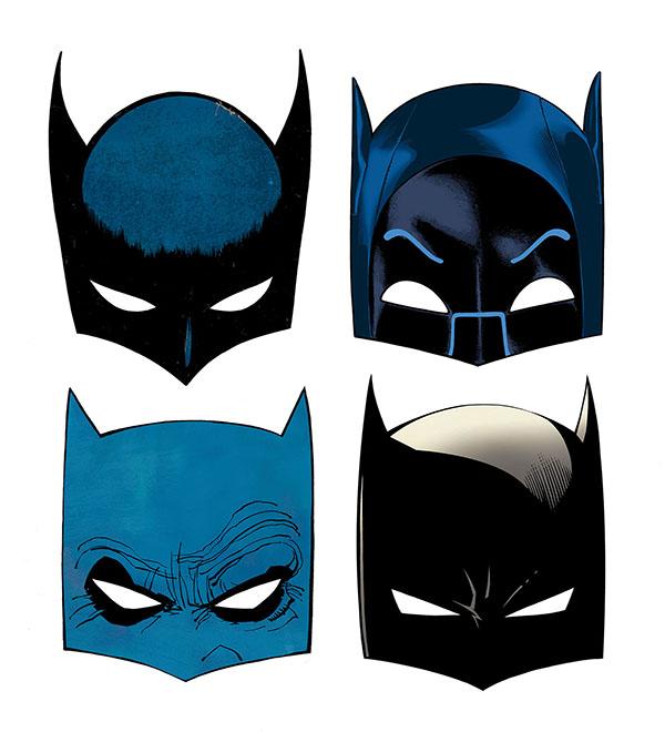 Drawn masks bat Batman's Tales first of appearance