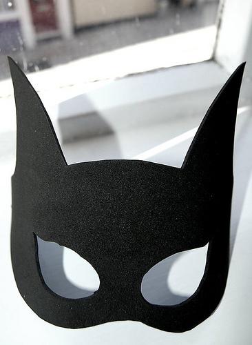 Drawn masks batwoman And Photo Masking mask Mask