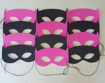 Drawn masks batwoman More Masks Assembled 10 MASKS