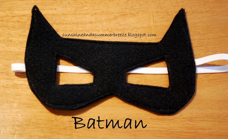 Drawn masks batwoman  a Batman Summer Sunshine