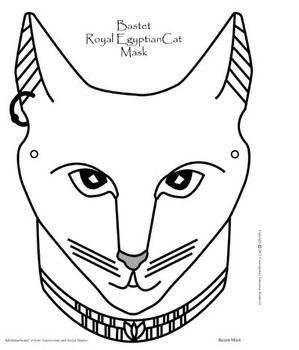 Drawn masks cat Pinterest Ancient Mask Best 25+
