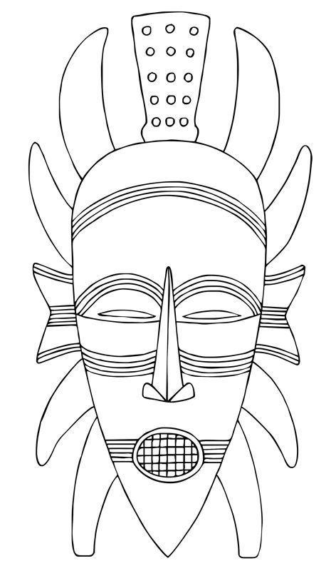 Drawn masks color Find African and inspiration on