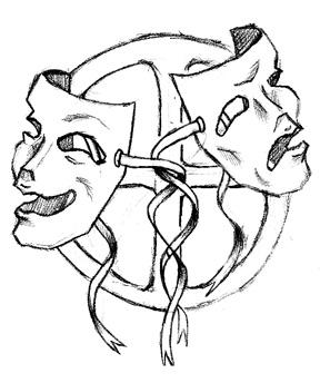 Drawn masks drama Done Masks more straightforward Drama