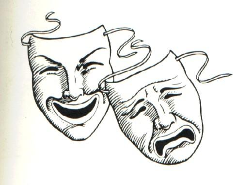 Drawn masks drama Simple For How Drama Pix
