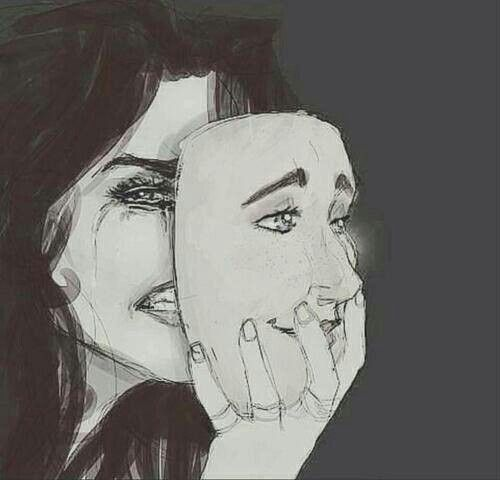 Drawn sad really Hurt think etc But sad