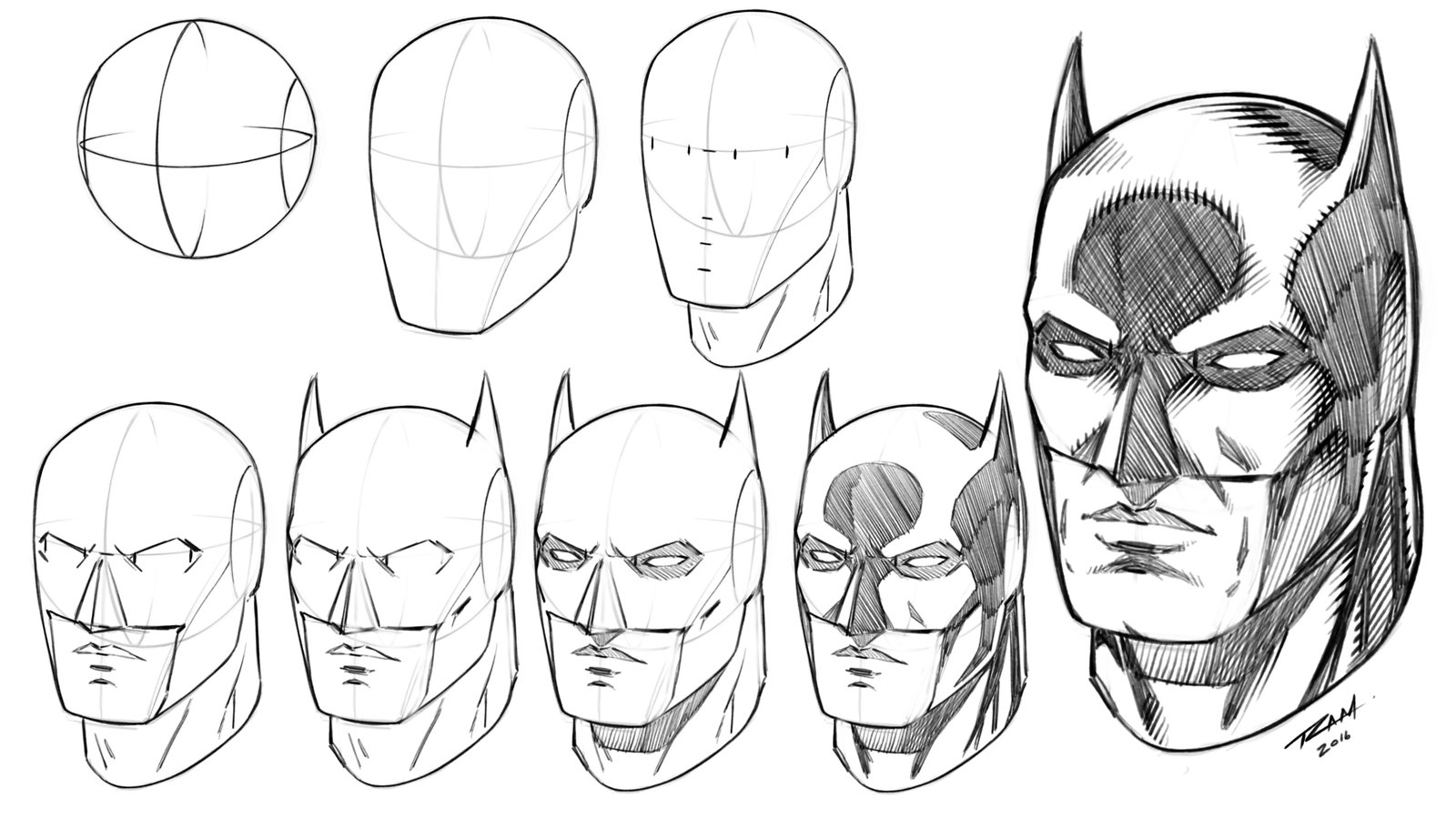 Drawn masks face drawing To Tutorial on Tutorial by