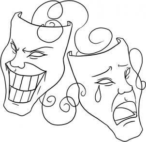 Drawn masks face drawing Masks Draw Online to Symbols