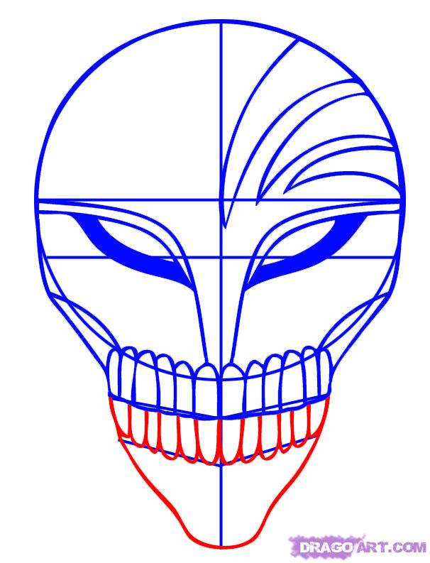 Drawn masks face drawing Mask Draw  to Step