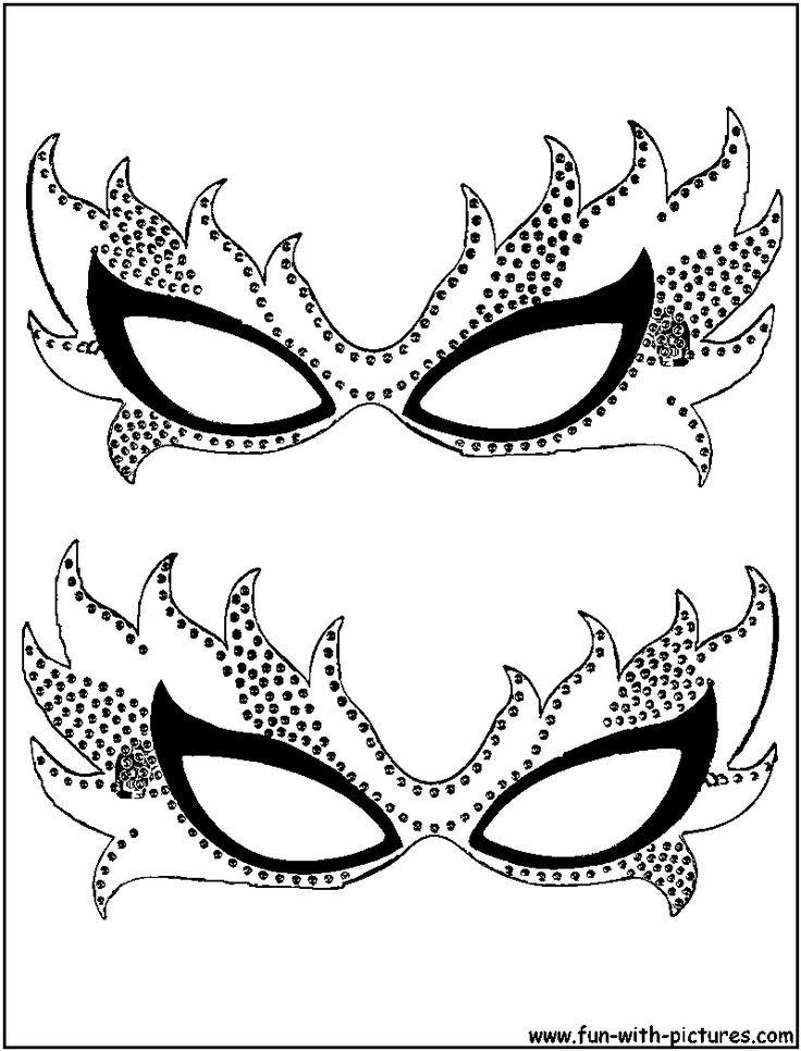 Drawn masks fancy mask Gras on Mardi Pinterest Masquerade
