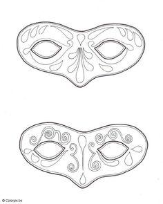 Drawn masks felt mask Owl Mask Owl and Free