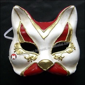 Drawn masks full mask  cat Small Fancy Mouth
