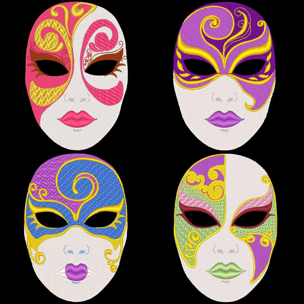 Drawn masks full mask Face designs face  pretty