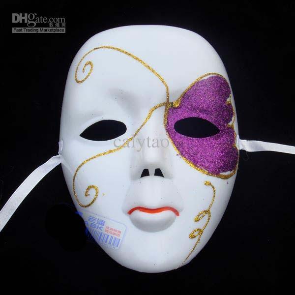 Drawn masks full mask  Masquerade Designs Full For