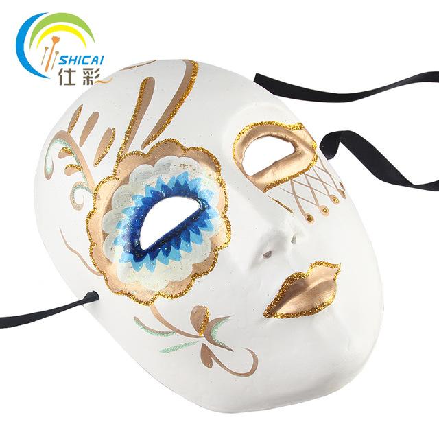 Drawn masks halloween mask Sale Mask Adults Paper Fashion