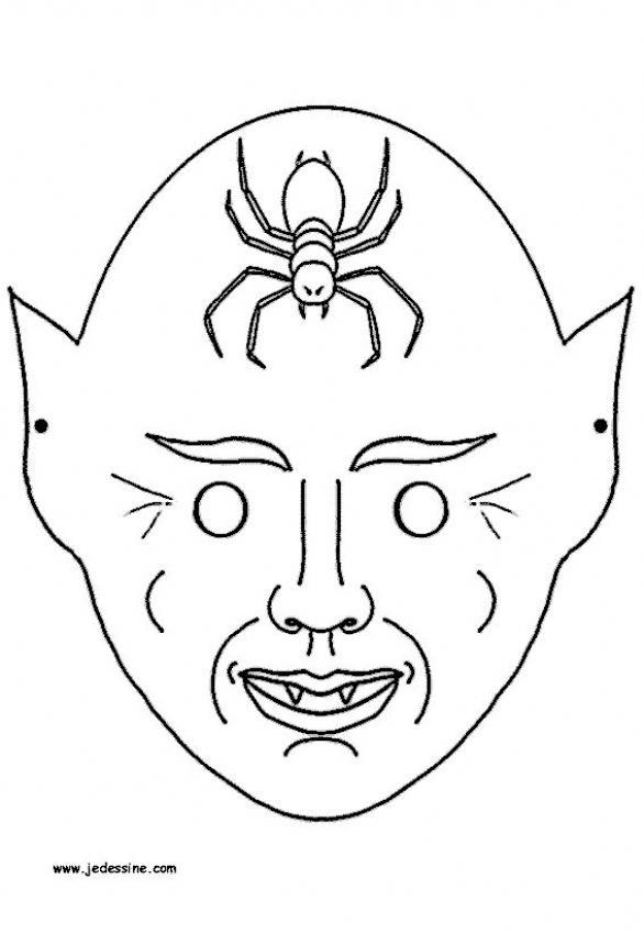 Drawn masks halloween mask Monster Kids masks SCARY for